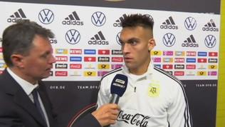 """Lautaro. """"Lavoreremo per raggiungere la Juve"""""""