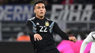 """Inter, Lautaro Martinez: """"Lavorare per arrivare al livello della Juventus"""""""