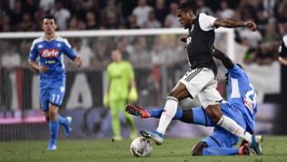 Juventus, Sarri recupera Douglas Costa