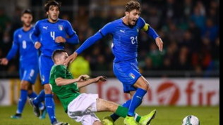 Under 21, Qualificazioni Europei: solo 0-0 dell'Italia in Irlanda, Kean disastroso e espulso