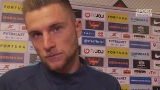 "Skriniar: ""Sconfitta con la Juve utile, ma noi vincenti"""