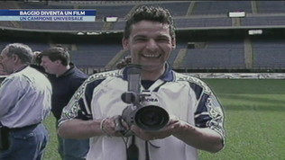 Baggio diventa un film per Mediaset: un campione universale