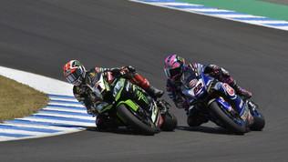 Superbike, Lowes sulla Kawasaki con Rea