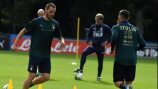 """Nazionale, Bonucci: """"All'inizio avevamo paura del modo di giocare di Mancini"""""""