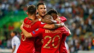 Portogallo, Ronaldo a un passo dal mito