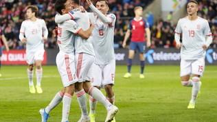 Qualificazioni Euro 2020: Spagna beffata al 95', Bosnia e Liechtenstein fanno un regalo all'Italia