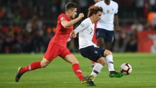 Qualificazioni Euro 2020: Francia-Turchia su Canale 20 e Sportmediaset.it