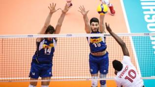Volley World Cup: Italia-Canada 2-3
