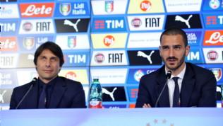 """Nazionale, Conte: """"Volere e potere come nel 2016"""". Mancini: """"La qualità c'è sempre stata"""""""