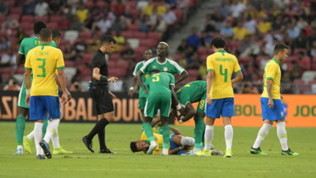 Brasie-Nigeria, la partita di Neymar dura 12 minuti