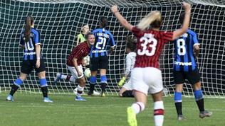 Va al Milan il primo derby femminile della storia