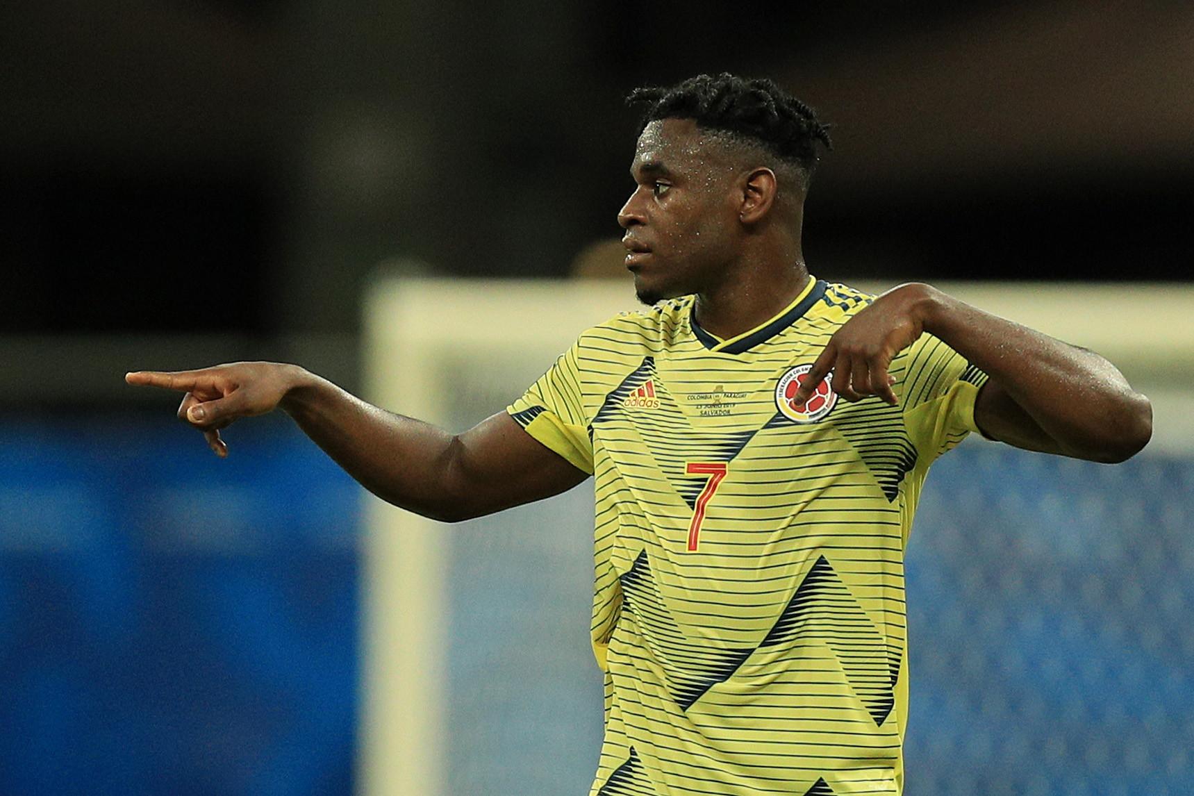 Zapata - problema all'adduttore, uscito dal campo al 23' della gara contro il Cile