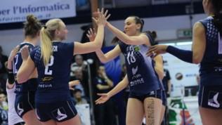 Volley, A1 femminile: vincono Novara e Scandicci