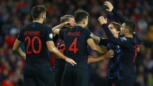 Galles-Croazia 1-1, le foto del match
