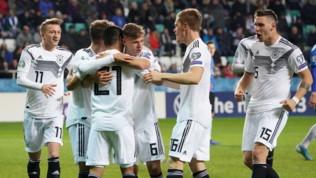 Qualificazioni Euro 2020: Gündogan trascina la Germania, Emre Can espulso al 14'