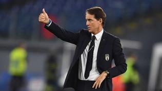 Italia, avanti con Mancini fino a Qatar 2022