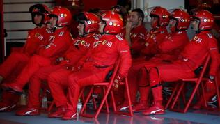 Anche l'aritmetica boccia ancora la Ferrari: fuori dai giochi a 4 GP dalla fine