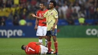Inter, bufera socialcontro Cuadrado dopo l'infortunio di Sanchez