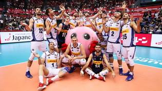 World Cup Volley: Italia batte Iran al tie break