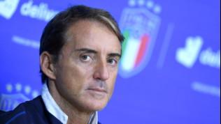 """Italia, Mancini: """"Belotti e Immobile partono alla pari, ora l'obiettivo è arrivare all'Europeo da testa di serie"""""""