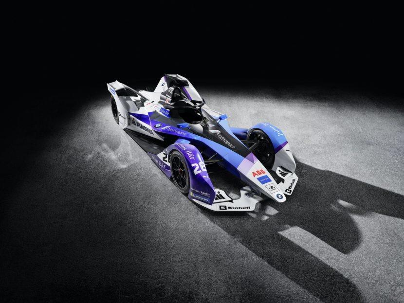 La casa tedesca ha svelato la livrea per la prossima stagione di Formula E. I piloti saranno il confermato Sims e Gunther.