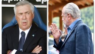 Napoli, tensione tra De Laurentiis e Ancelotti