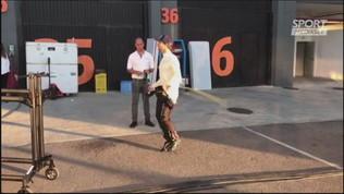 Da Costa si allena nei box a Valencia