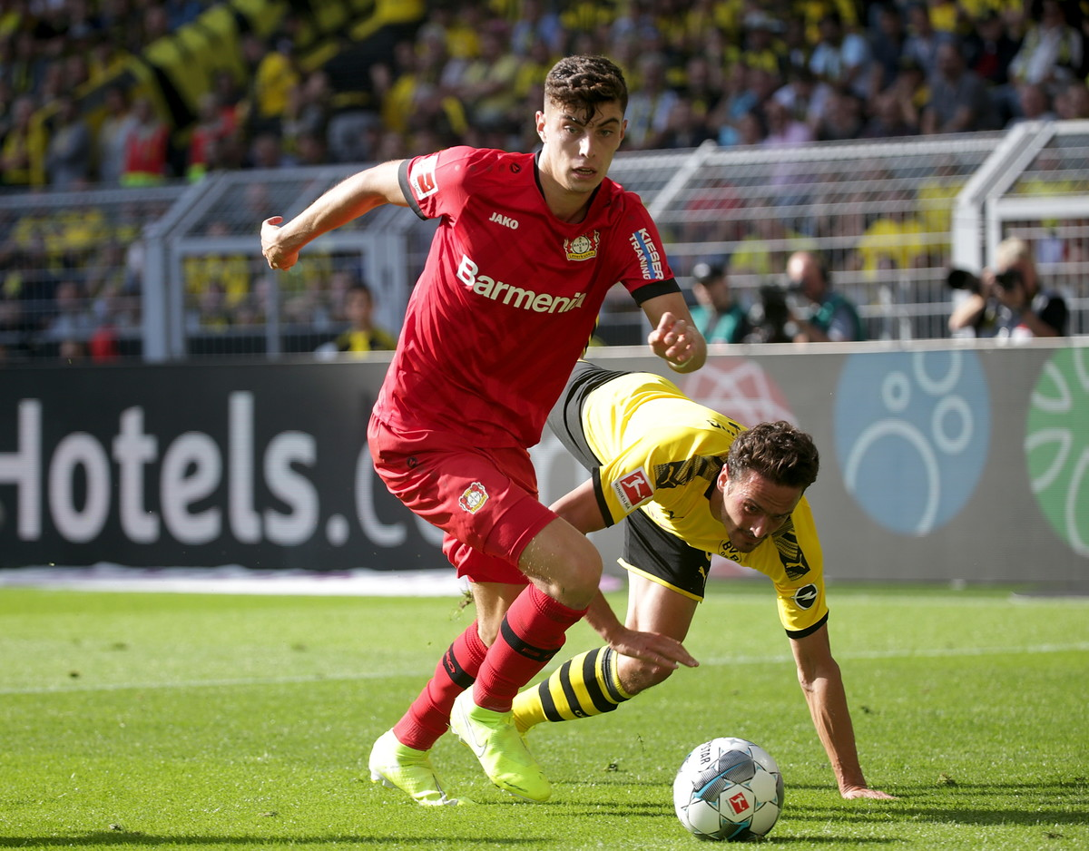 Kai Havertz (Bayer Leverkusen, Germany)