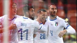Qualificazioni Euro 2020: Liechtenstein-Italia 0-5, Mancini eguaglia Pozzo