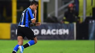 Inter: Sanchez operato alla caviglia, tornerà nel 2020