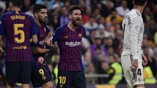 "Caos Catalogna, Liga: ""Barcellona-Real si giochi al Bernabeu"""