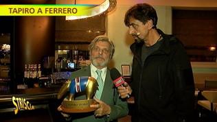 """Tapiro d'oro a Ferrero: """"Lo dedico a Vialli, casa Samp è sempre aperta per lui"""""""