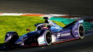 Formula E, seconda giornata di test
