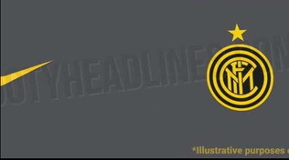 Inter, spunta la terza maglia per il 2020/2021: grigia e gialla