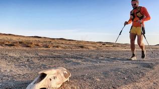 Nessuno mai come Michele Graglia: compiuta la prima traversata integrale del deserto del Gobi
