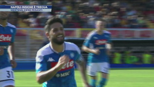 "Napoli-Insigne è tregua.""Mertens, cifre pesanti"