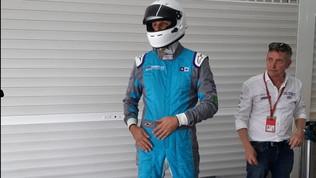 Formula E, il nostro Ronny Mengo in pista a Valencia