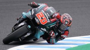 MotoGP Giappone: Quartararo svetta nelle libere, tutti i big vicini