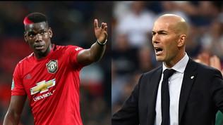 """Manchester United, Pogba incontra Zidane: """"Casualità"""""""
