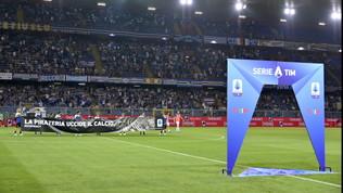 Sampdoria-Roma a rischio: il maltempo può costare il rinvio