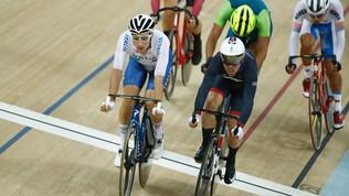 Ciclismo su pista, Europei: delusioni per Viviani e Paternoster, entrambi giù dal podio