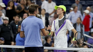 Tennis, Atp Anversa: Wawrinka in finale, si interrompe la favola di Sinner