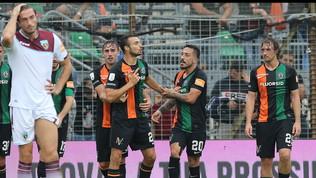 Serie B: allungo Benevento in vetta, Salernitana ko, pareggia l'Entella
