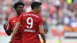 Bundesliga: il Bayern viene fermato dall'Augusta al 91', il Wolfsburg aggancia la vetta