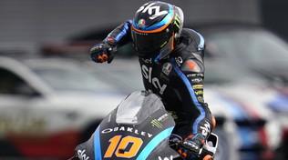 Moto2 Giappone, Marini concede il bis