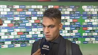 """Inter, Lautaro: """"Conte arrabbiato a fine partita"""""""