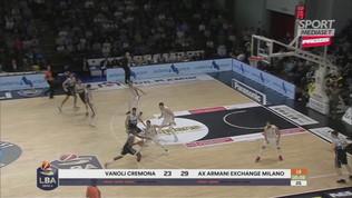 Serie A Basket: Milano perde ancora, vincono Roma e Brindisi