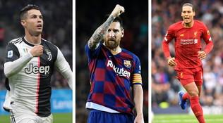 Pallone d'oro: anche Koulibaly tra i 30 candidati. Lotta a tre Messi-Van Dijk-Ronaldo