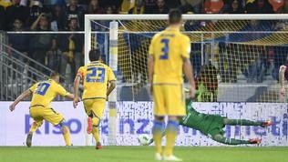 Serie B: rigore di Ciano e il Frosinone respira, Livorno sconfitto 1-0