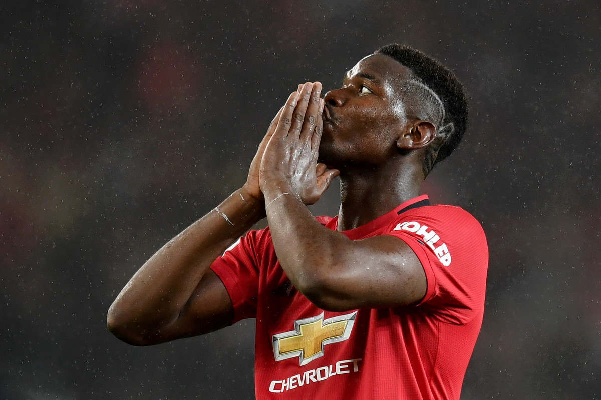 Paul Pogba (Manchester United): stagione deludente, non a caso ha cercato di lasciare la Premier League in estate